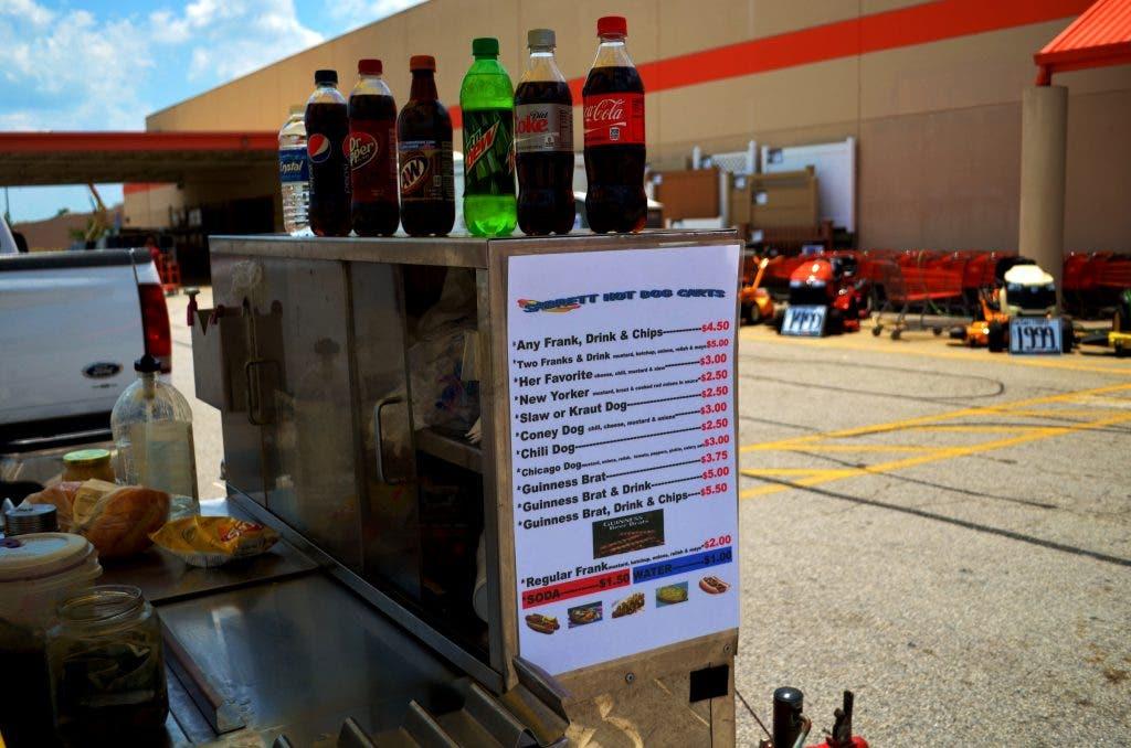 Sabretts Hot Dog Stand In Hiram West Cobb Ga Patch