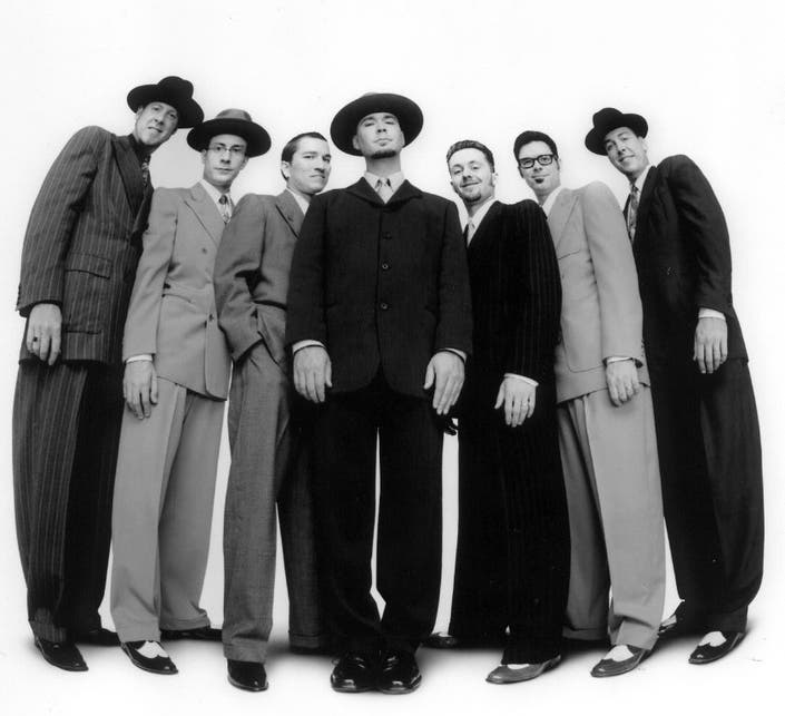 Big Bad Voodoo Daddy At The Wolf Den Montville Ct Patch