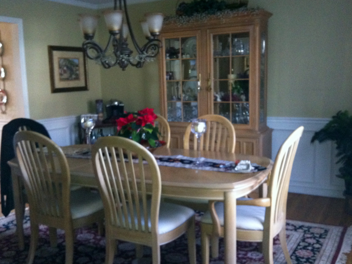 For Sale By Owner Fabulous Bernhardt Dining Room Set Table 6 Chairs Hutch 850