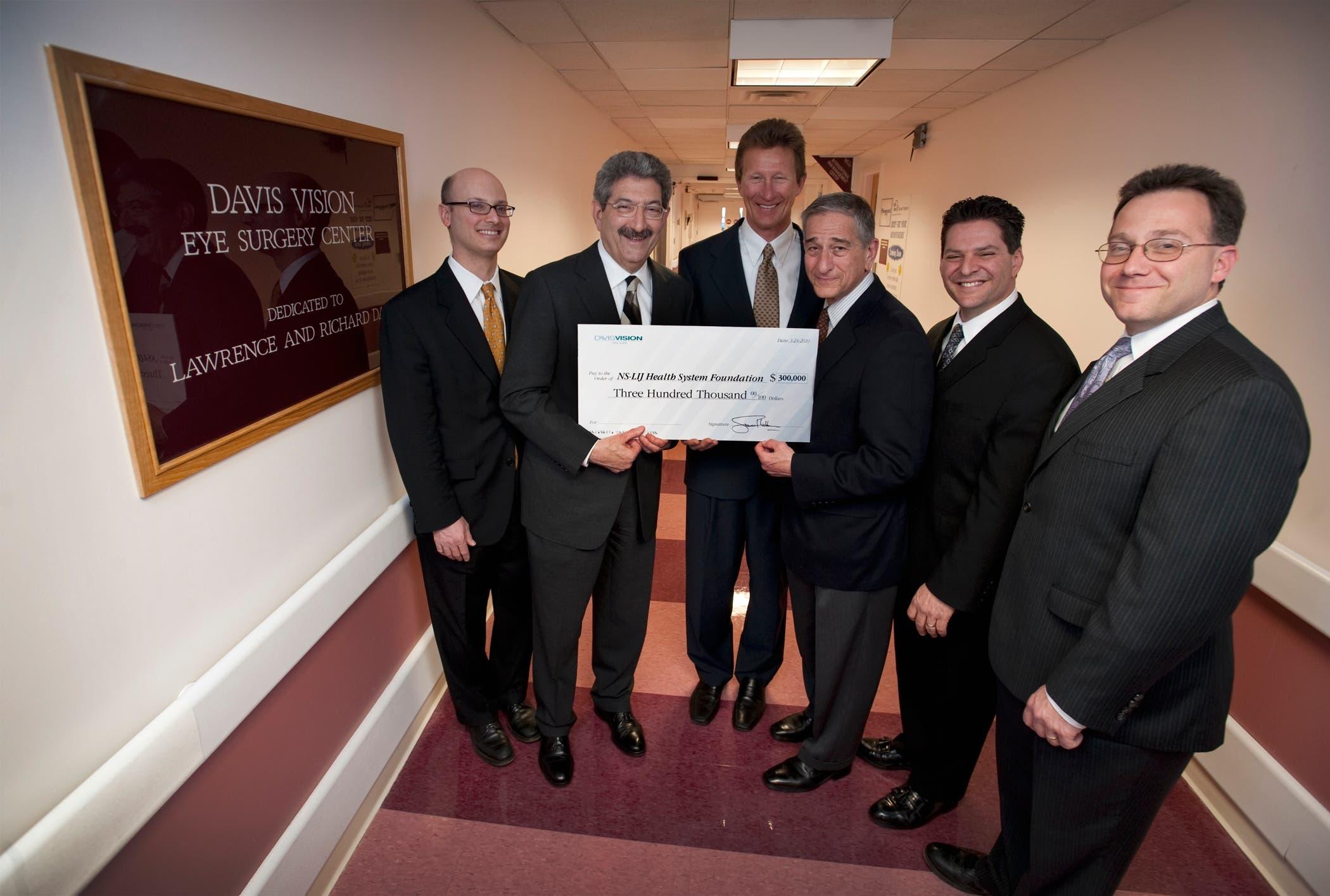 Company Donates to Syosset Hospital for Eye Care | Syosset, NY Patch