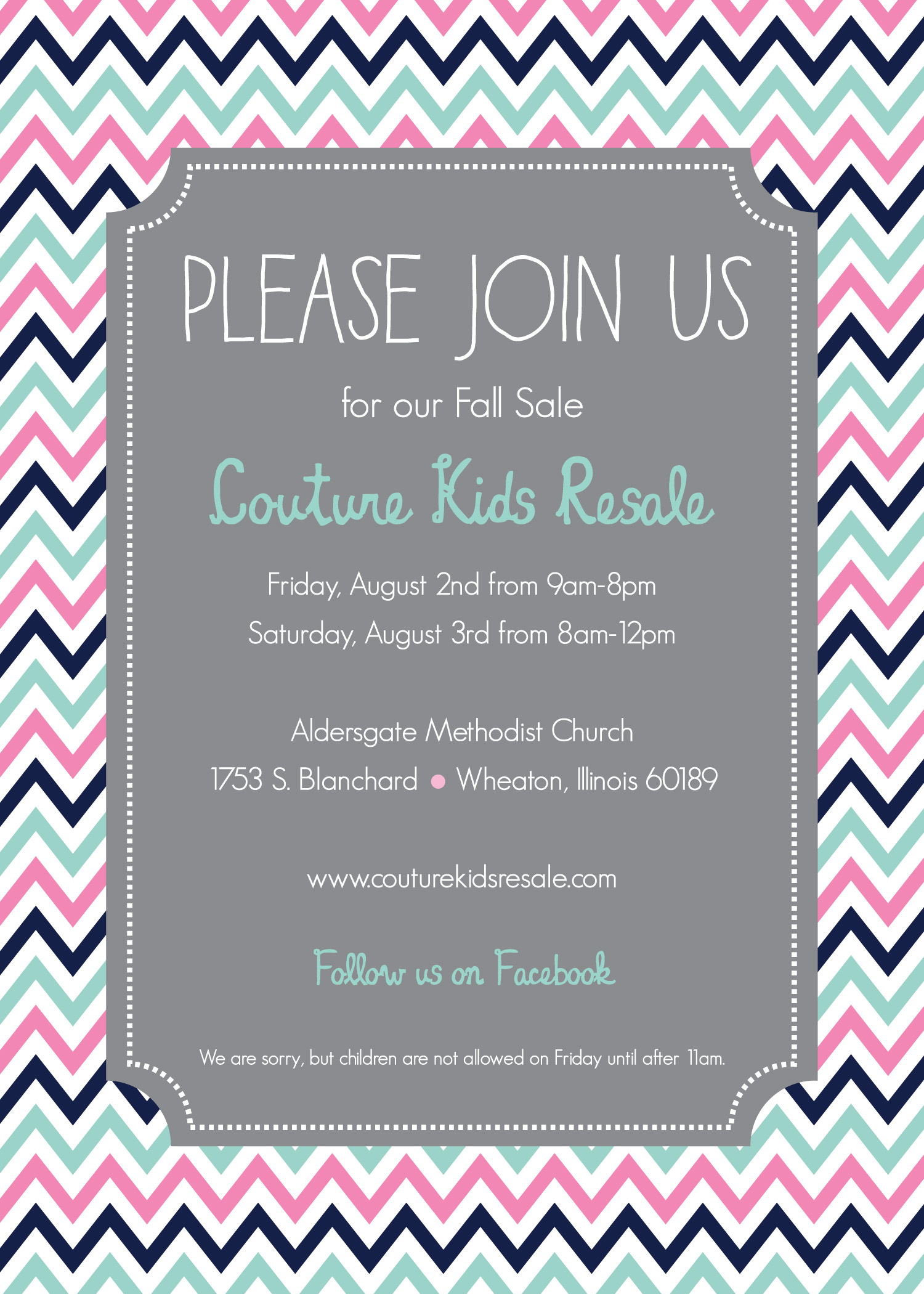Couture Kids Resale S Back To School Sale Discount Day