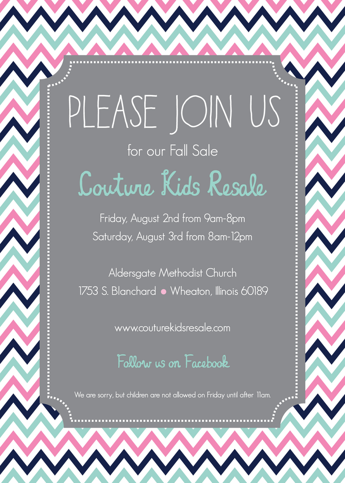 Couture Kids Resale S Back To School Sale Lisle Il Patch