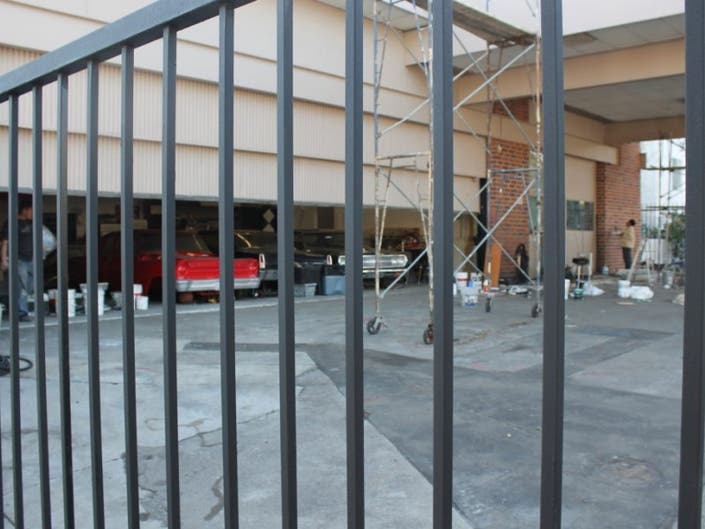 Progress Continues at Brentwood Texaco Station   Brentwood