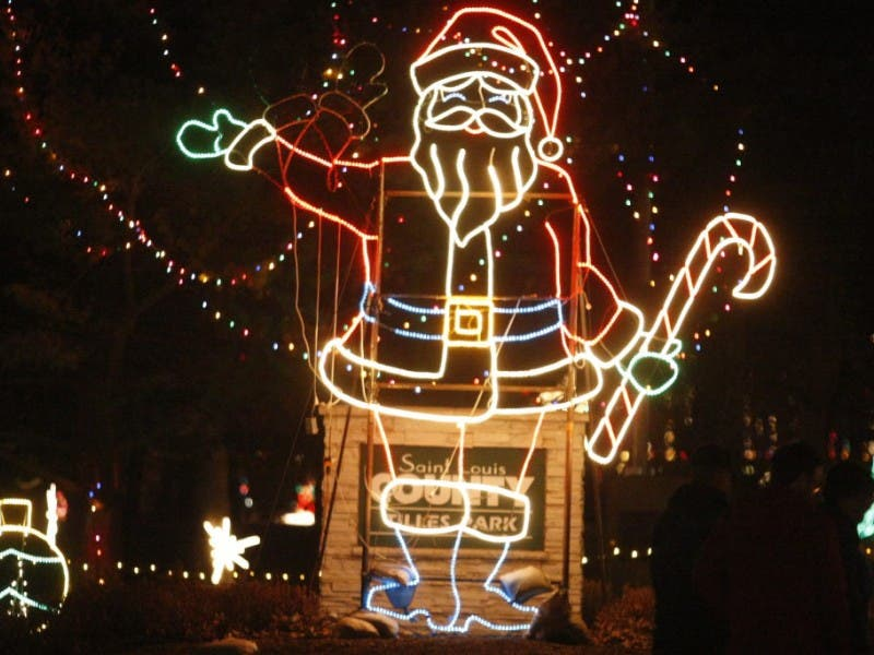 five places to see holiday lights in st louis 0 - Christmas Lights St Louis