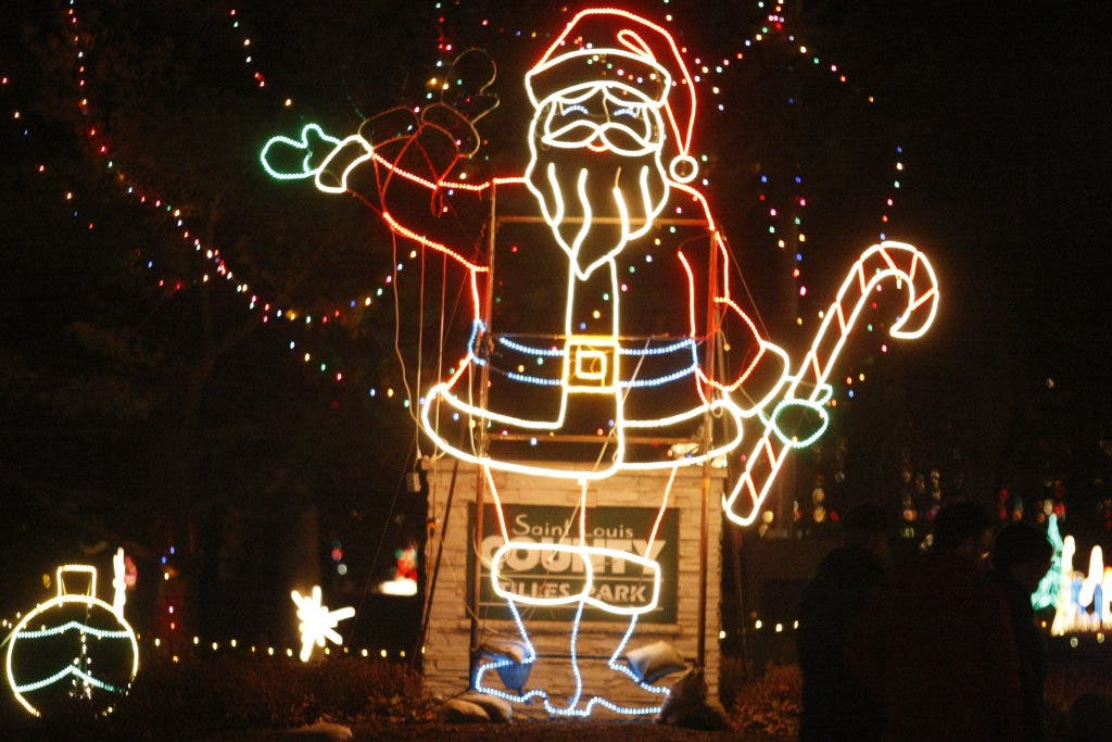 Christmas Light Displays In St Louis.Five Places To See Holiday Lights In St Louis O Fallon