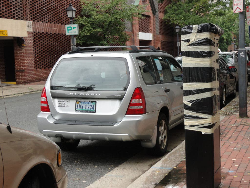 Delinquent Parking Tickets in Alexandria Mean No New Vehicle