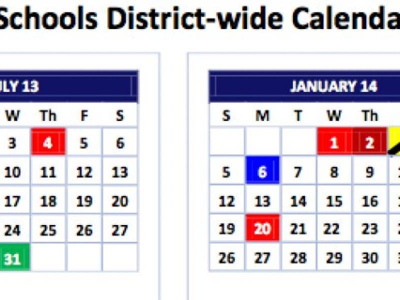 Aps Calendar Vote Pushed To March Midtown Ga Patch