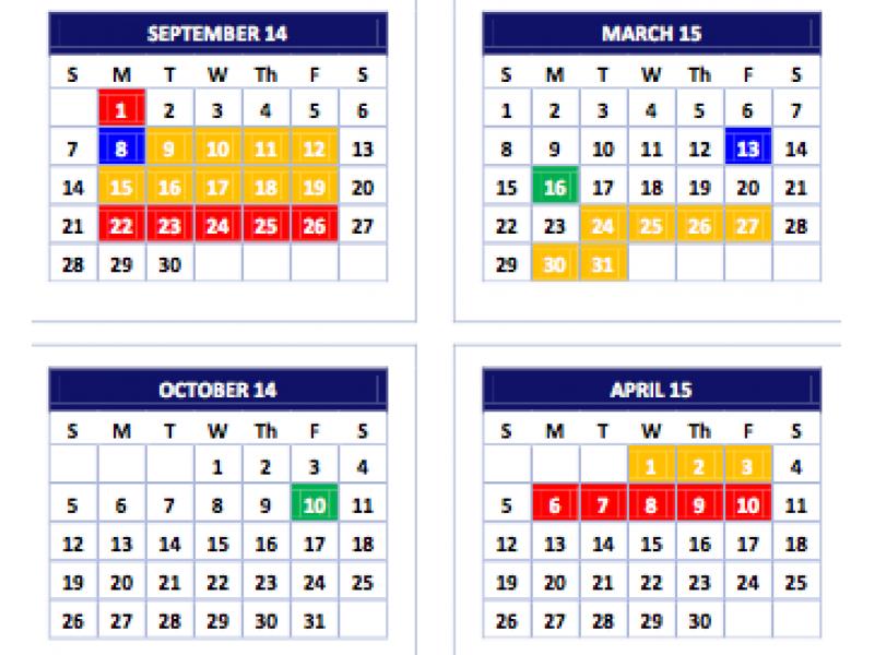 Atlanta Public Schools Calendar.3 Years Of Proposed Aps Calendars Released For Community Input