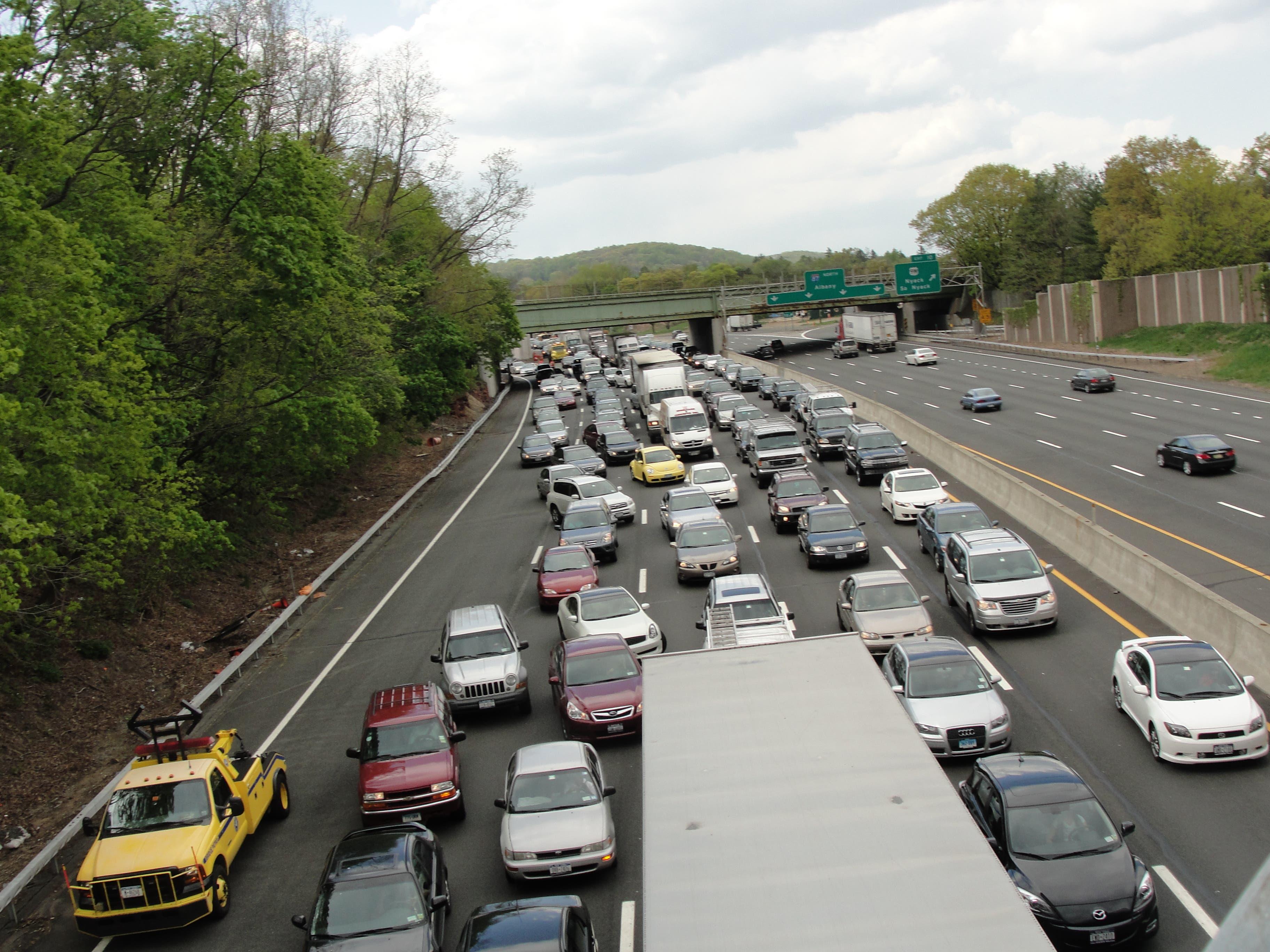 Thruway Officials Warn of Heavy Traffic this Weekend through