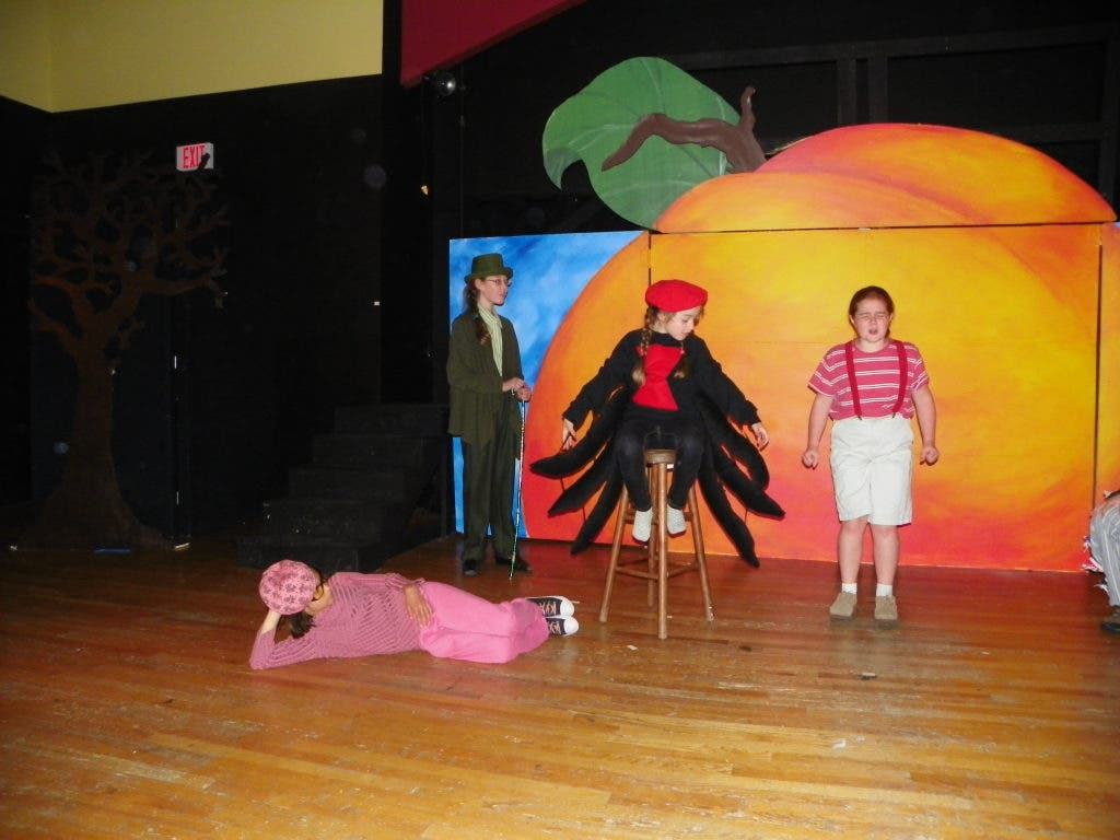 Pac Staging James The Giant Peach This Weekend Framingham Ma