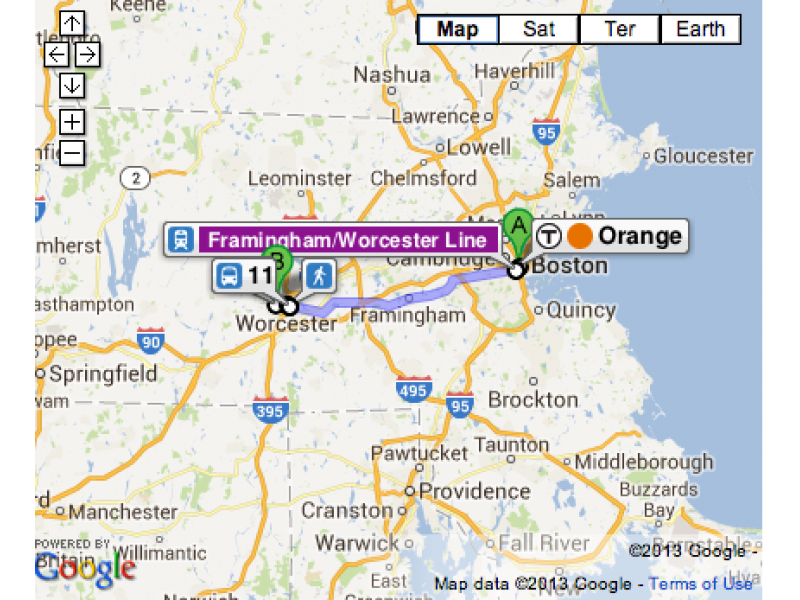 MA Public Transit Routes, Schedules Now on Google Maps ...