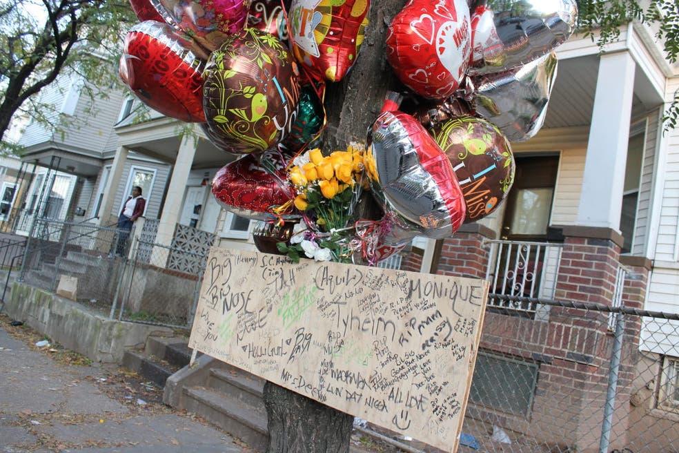 Residents Rally in Honor of Slain Irvington Teenager