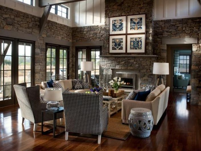 The Great Room with Great Decorating Challenges | Yorktown ...