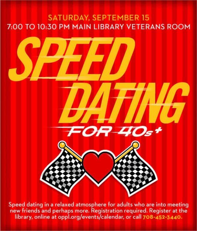 speed dating elmhurst il internetski rituali upoznavanja američkog muškarca marcus chloe