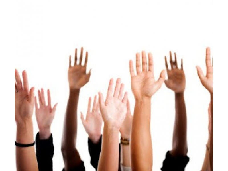 Raise Your Hand If You Can Lend A Hand