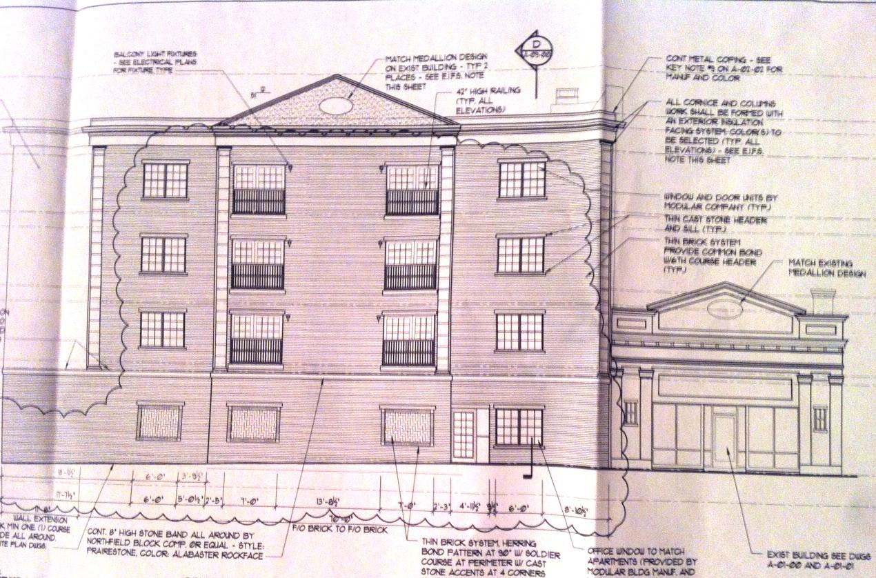 12-Unit Apartment Building Will Neighbor Historic Theater ...