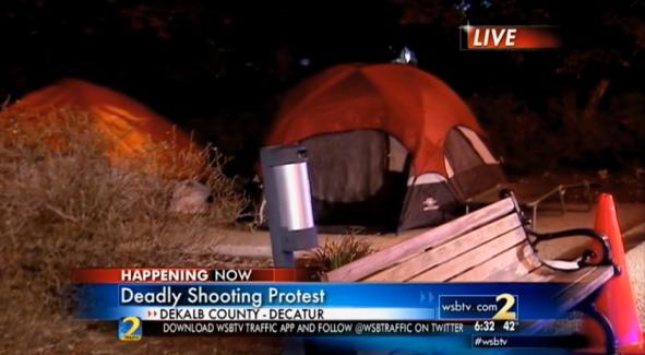Protesters Seek Investigation into DeKalb Police Shooting