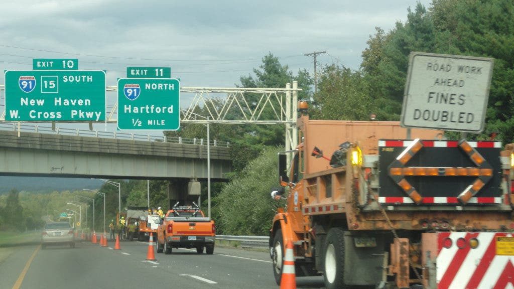 UPDATE: Dump Truck vs  Bridge Abutment on I-691 | Meriden