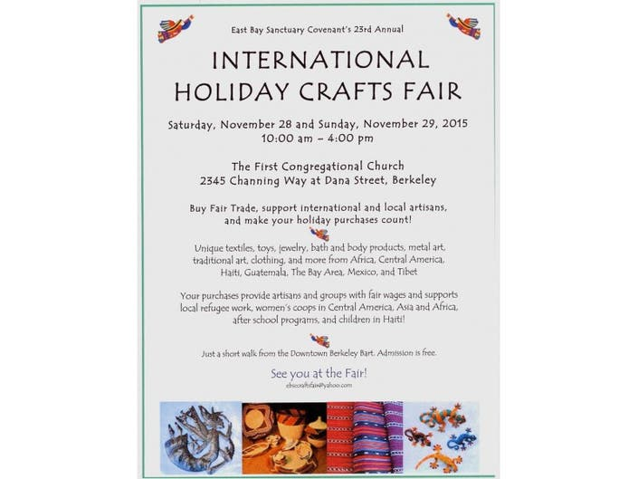 International Holiday Craft Fair El Cerrito Ca Patch