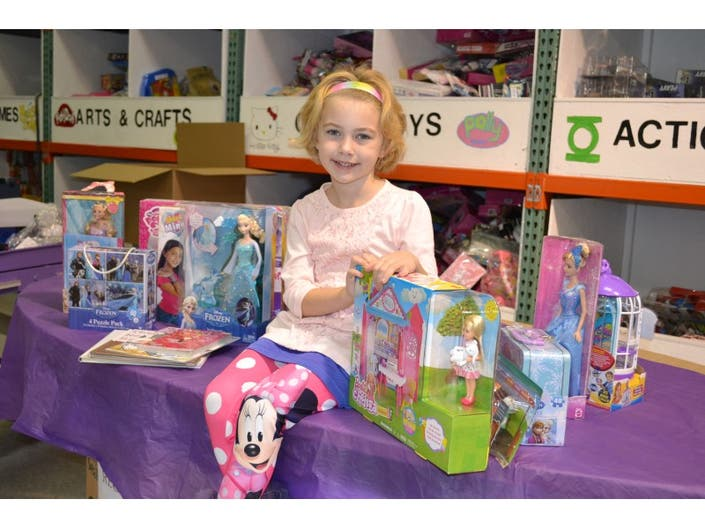 Tinley Park Girl Makes A Donation In Lieu Of Birthday Gifts To Children Fighting Cancer