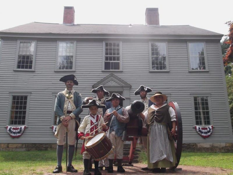 greene homestead hosts revolutionary war encampment coventry ri patch