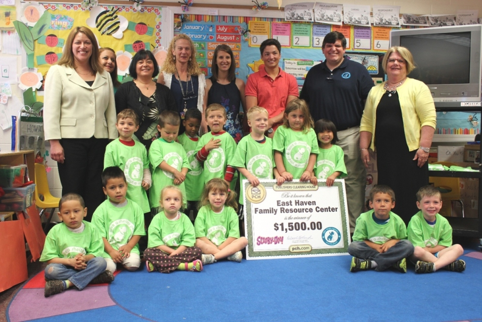 EH Family Resource Center Wins Second Prize in National Contest