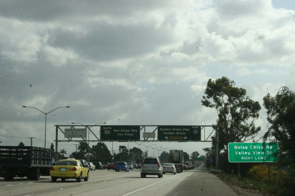 SigAlert Issued for 405 Freeway   Los Alamitos, CA Patch