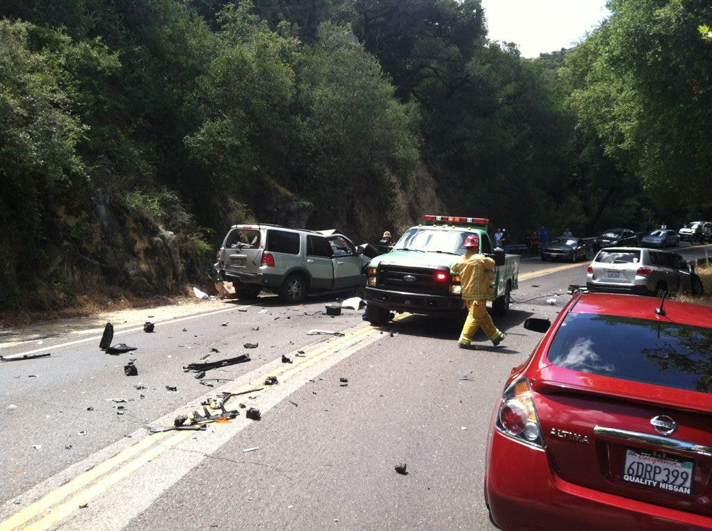 NEW PHOTOS: 8 Injured in Ortega Highway SigAlert Crash | San
