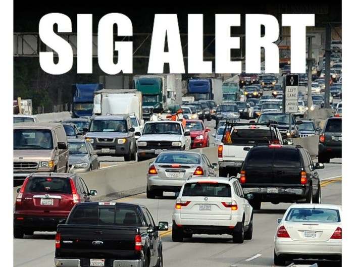 Updated: SigAlert Cleared for 405/605 Connector   Los