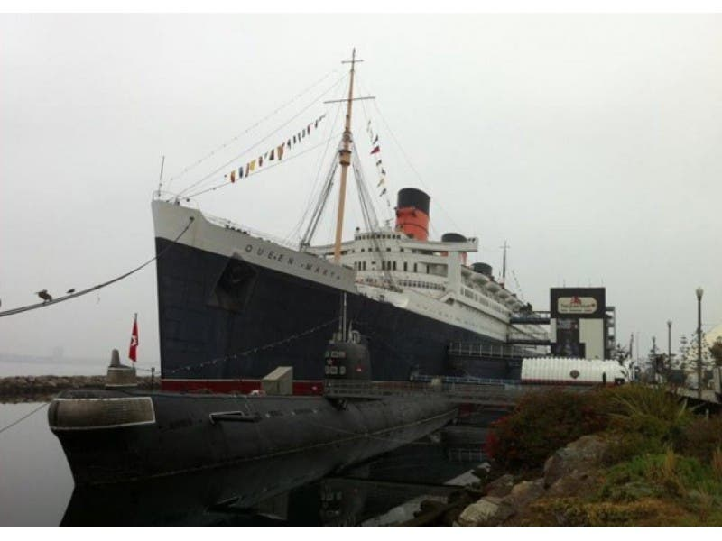 The Queen Mary And Elizabeth Have Royal Family Reunion In Long Beach