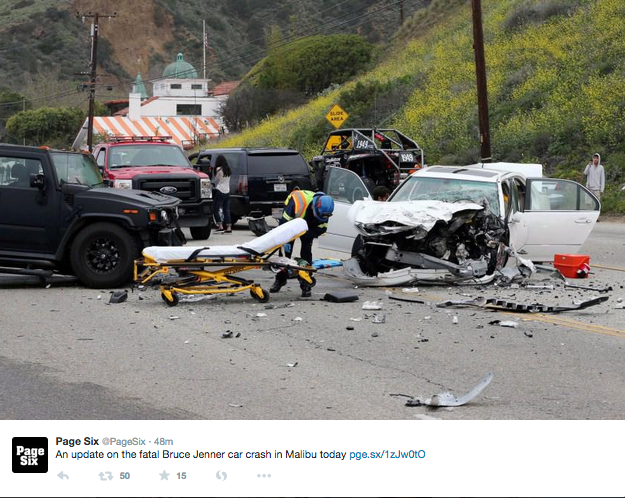 Calabasas Woman Killed in Bruce Jenner Crash, Police Investigate