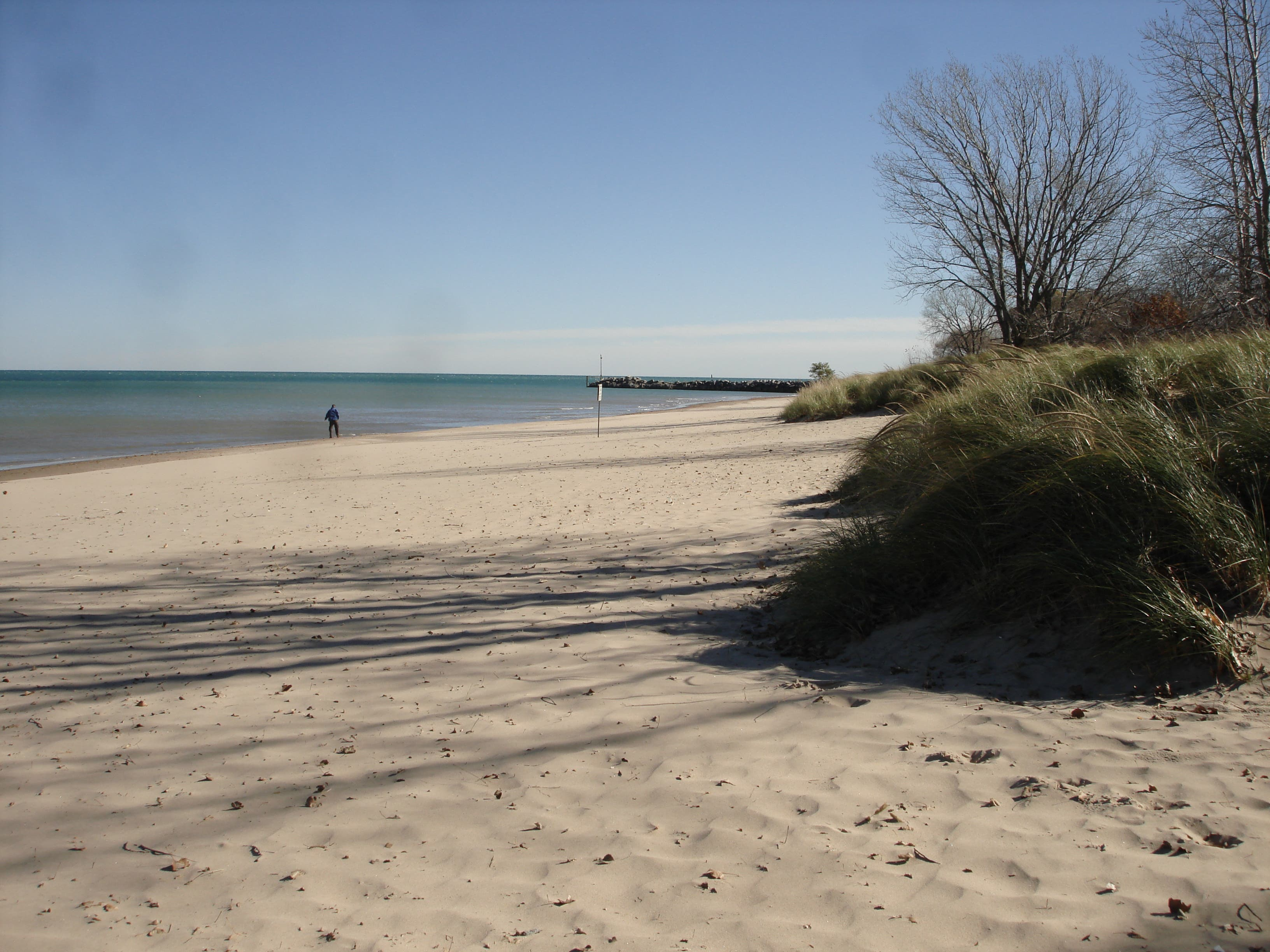 Paddle Board Users Moved to South End of Gillson Park Beach
