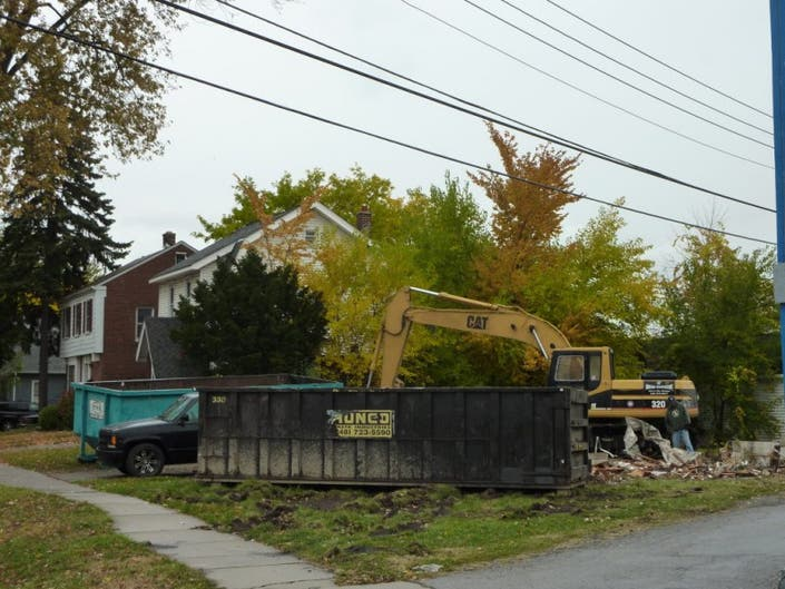 Updated House Demolished To Make Way For Vinsetta Garage Parking
