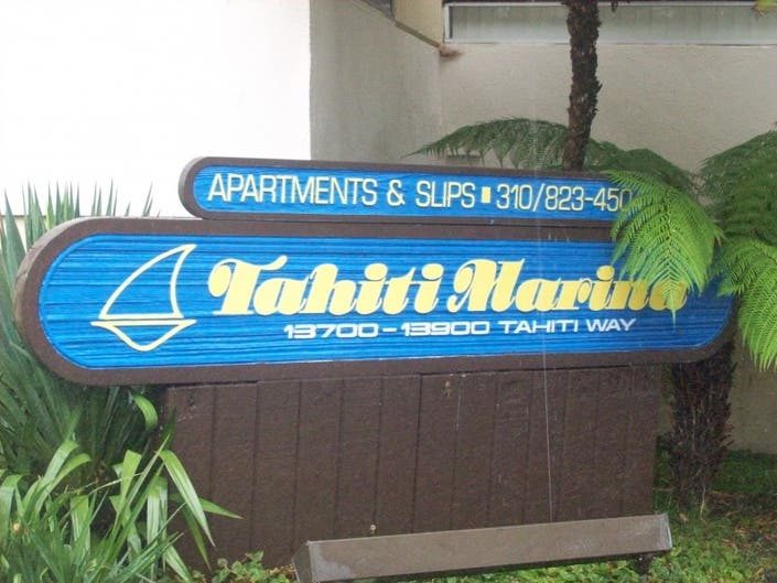 County Board Roves New Lessee For Tahiti Marina Apartments