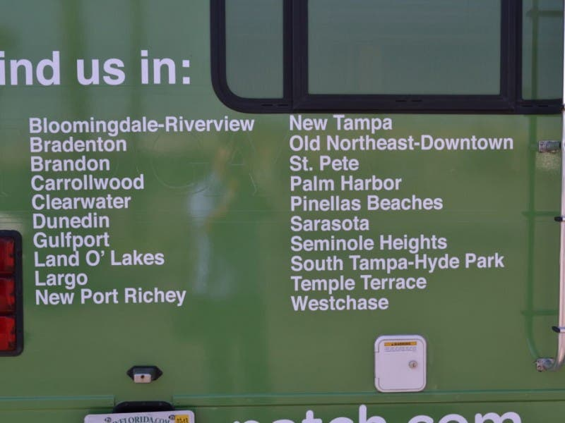 Get Free Stuff When The Patch Rv Comes To South Tampa Tampa Fl Patch