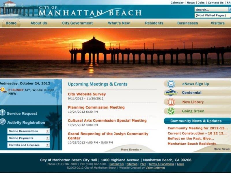 city of manhattan website