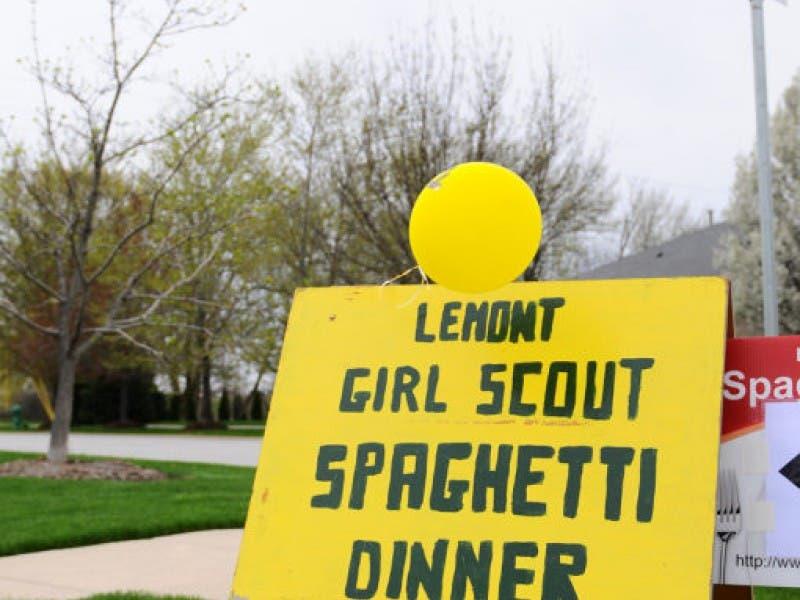 support lemont girl scouts at annual spaghetti dinner fundraiser