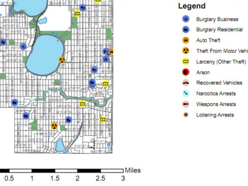 MAP: More Burglaries In Kingfield | Southwest Minneapolis, MN Patch