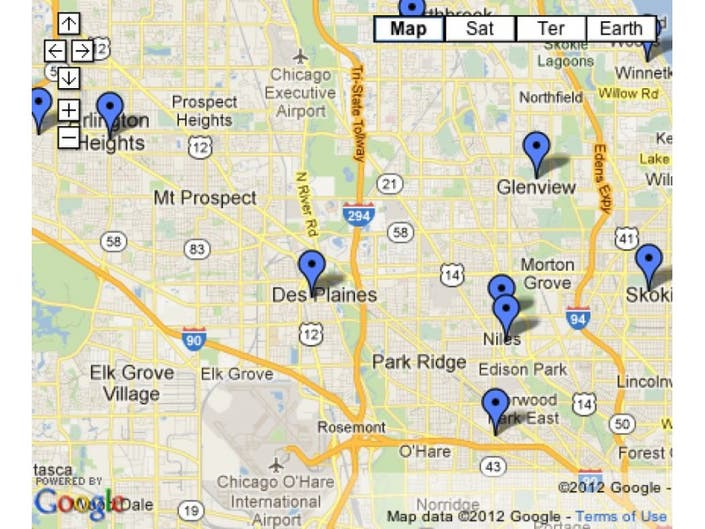 List and Map: West Nile Virus Cases and Reports in Illinois ...