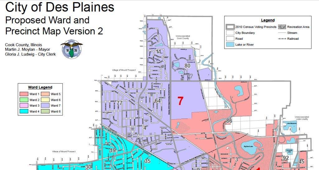 Des Plaines Considers New Ward Boundaries | Des Plaines, IL ...