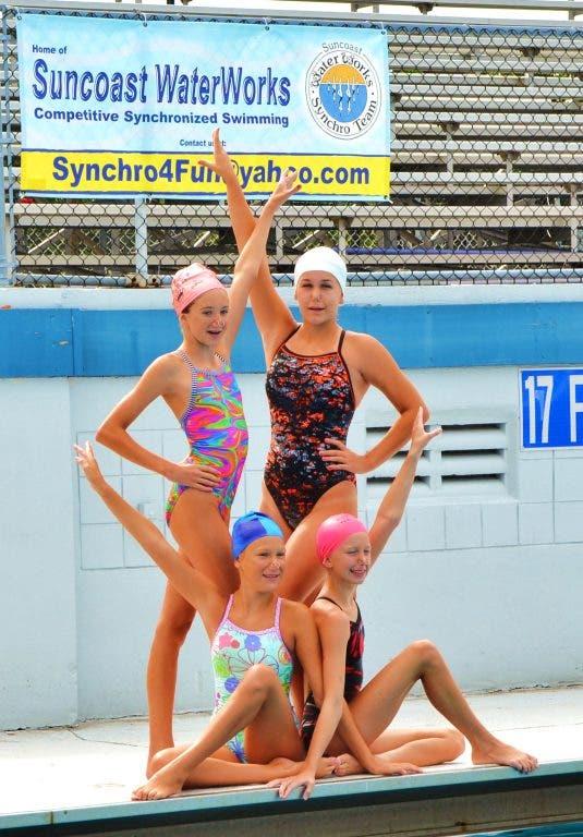 6ed2de0ebb Local Synchronized Swim Team Heads to Nationals   Largo, FL Patch