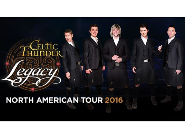 Celtic Thunder: Legacy | Morristown, NJ Patch