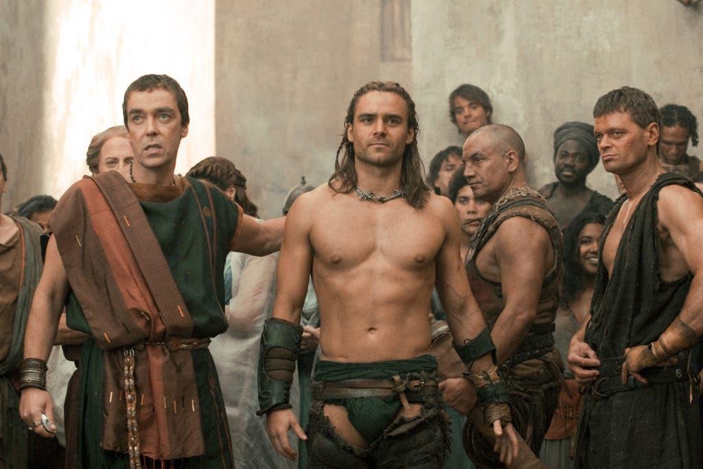 Spartacus hot