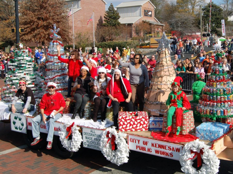 Kennesaw Christmas Parade 2019 Kennesaw Santa Day: Parade, Snow Tubing, Tree Lighting, Crafts