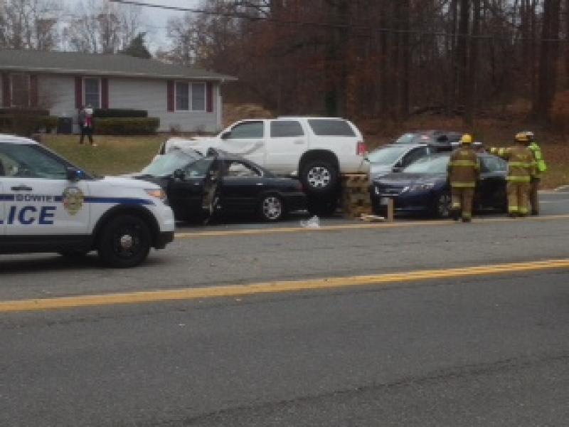 UPDATE: Route 197 Reopens Following 5 Car Accident | Bowie