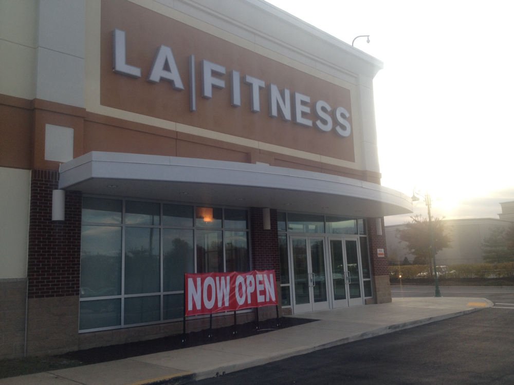 La Fitness Now Open In Bowie Town Center Bowie Md Patch