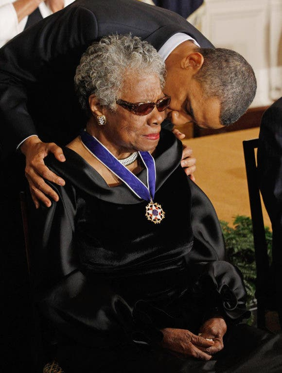 Maya Angelou Shares Perspective On Education Literacy With