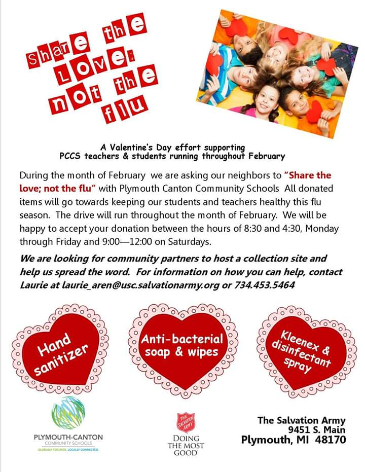 P-CCS And The Salvation Army Team Up To Share The Love, Not