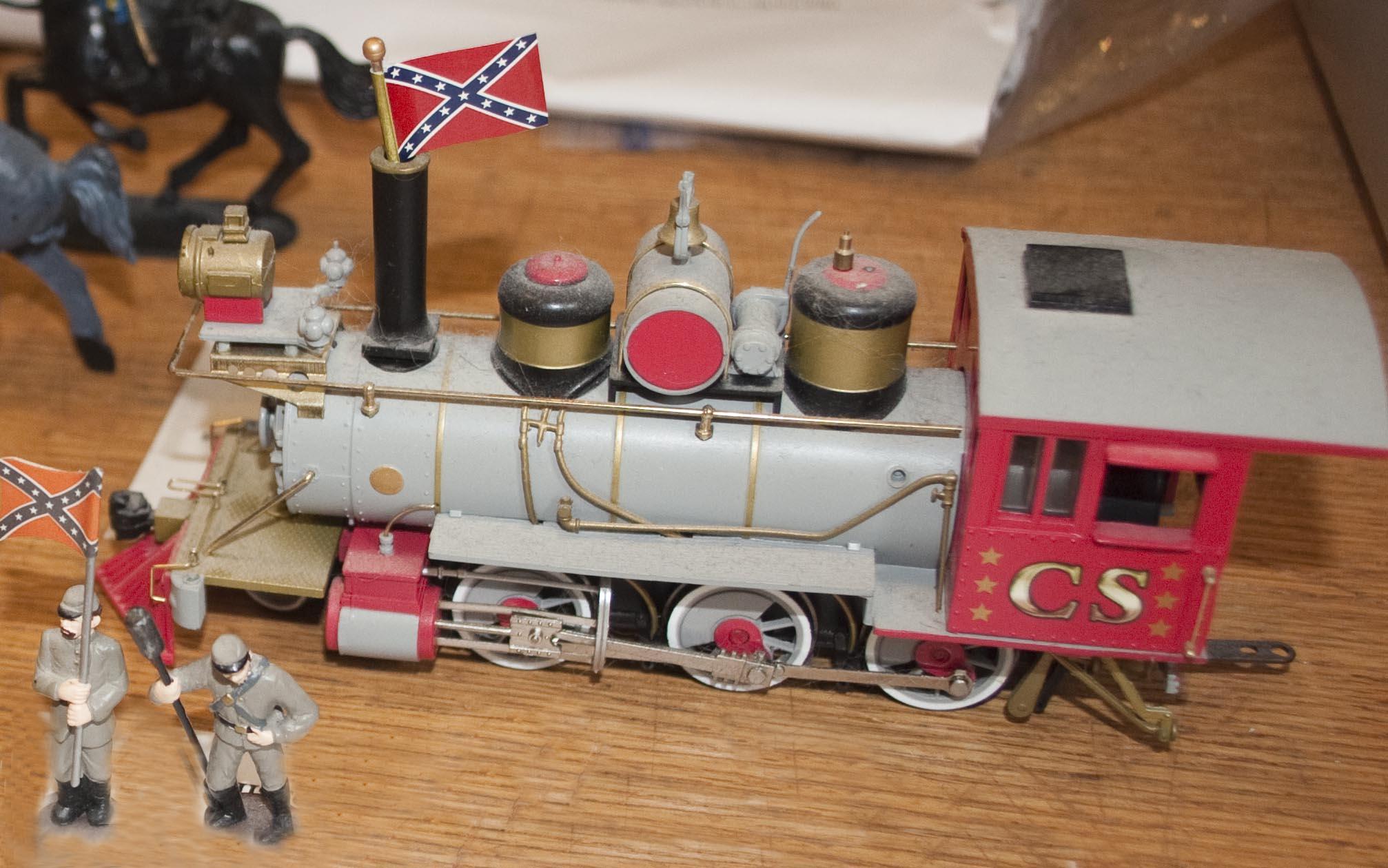 Miniatures Through Time - A Dollhouse Miniatures Exhibit with trains