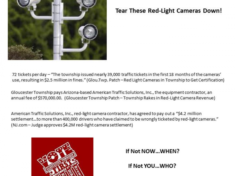 Tear These Red-Light Cameras Down!